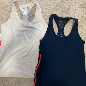 Adidas by Stella mccartney, two mesh tanks